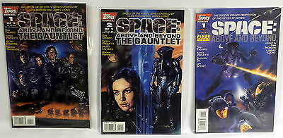 Space Above And Beyond : Set Of 3 Topps Comics