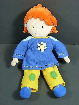 Rosie 12'' Stuffed Plush Doll (Caillou Sister) 2002