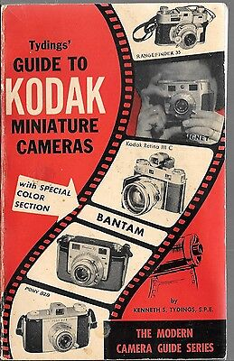 Tyding's Guide To Kodak Miniature Camers / 1956 / The Modern Camera Guide Series