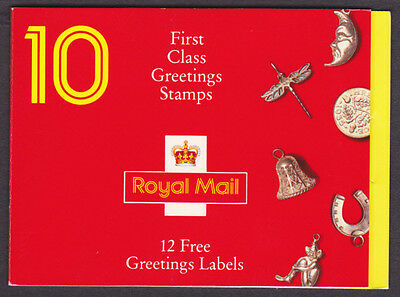 Great Britain Mint NH 1991 Greetings Booklet Good Luck (AC_52)
