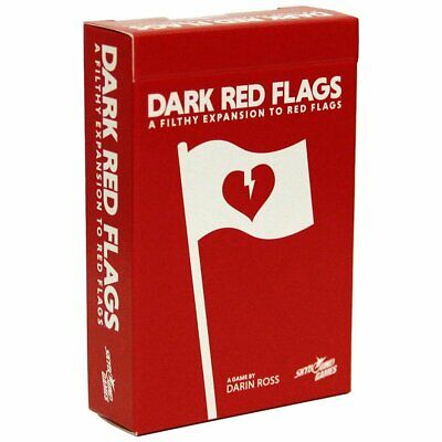Red Flags: Dark Red Flags Expansion - Card Game