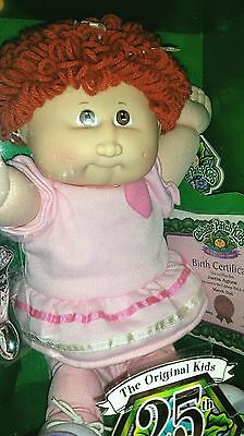Gorgeous 25th Anniversary  Cabbage Patch Girl  ~ Rust color hair/ NRFB , B.I.N.