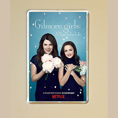 Gilmore Girls: A Year In The Life - Lauren Graham - Alexis Bledel - Magnet #1