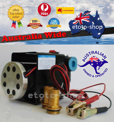12V 24V Heavy Duty Fuel Oil Diesel Transfer Pump 70 L/min Continuous Rated