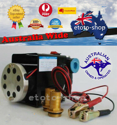 24V Heavy Duty Fuel Oil Diesel Transfer Pump 70 L/min Continuous Rated