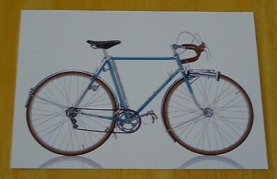 Cyclepedia Postcard ~ Iconic Bicycles ~ Rene Herse Demontable ~ France, 1968