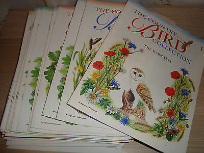 Country Bird Collection MAGAZINE (choose 1 of 80) - Numbers & Photos below