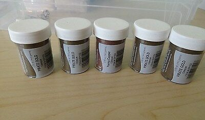 5x Stampendous Stamp 'n Stuff Embossing Powder - Pirate Gold and Penny Copper