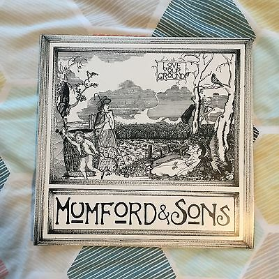 "Mumford & Sons - Love Your Ground - Rare 10"" Vinyl EP - Limited Edition"