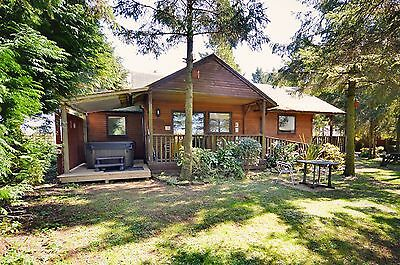 3 Night Weekend Break in a Hot-Tub Log Cabin at Rocklands Lodges