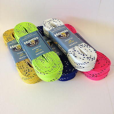 Howies WAXED Ice Hockey Skate Laces all sizes all colours skating inline roller