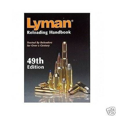 Lyman Reloading Handbook Hunting Guns Rifles Bullets Reload Manual Free Shipping
