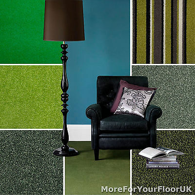 Green Carpet Cheap Green Carpets Loop Twist & Saxony Pile Green Carpets Feltback