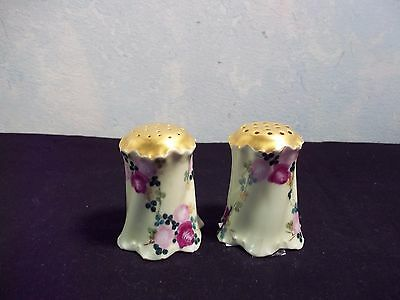 Salt And Pepper Shakers Flowered Versaill Bavaria