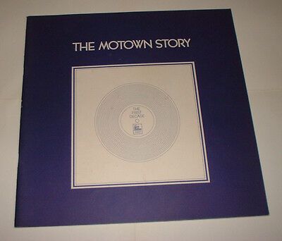 UK 1972 THE MOTOWN STORY BOOK for box set