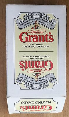 William Grant's Finest Scotch Whisky Playing Cards Excellent Condition