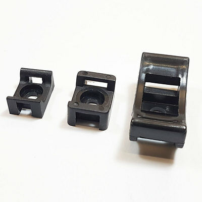 Cable Tie Base Saddle Cradle Mounts Bases Wire Clips Clamps Cable Ties Holder