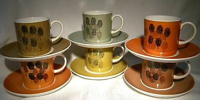 Susie Cooper Abstract Coffee Cup / Can & Saucer  Set