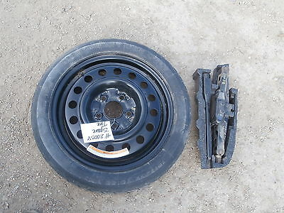 02 13 nissan altima spare tire w jack \u0026 tools donut compact 2003802 13 nissan altima spare tire w jack \u0026 tools donut compact 20038