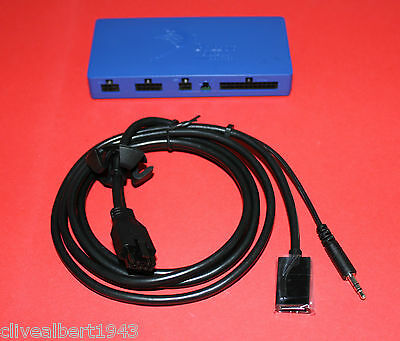 "GENUINE PARROT MKi9200 Blue Brain Box Software Ver: 3.12 & New Media Cable ""NEW"""