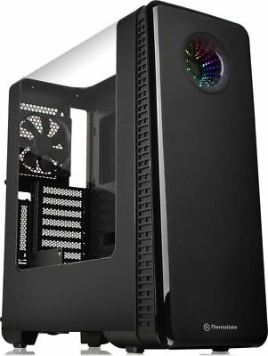 Thermaltake View 27 Mid Tower Case with Shaped Side Window