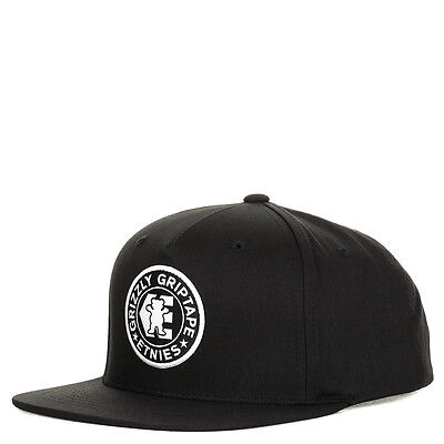 Etnies Grizzly Snapback Cap Black O/S