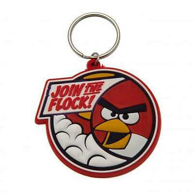 Official Licensed Product Angry Birds Keyring Key Chain Fun Fan PVC Gift New