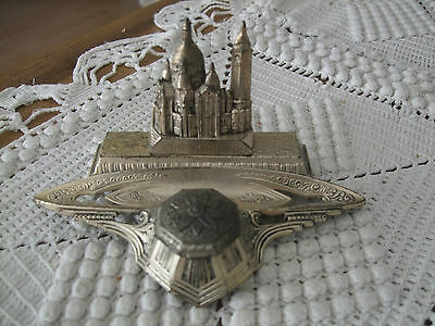 Tintenfass Art deco Paris inkwell old