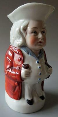 Vintage Continental Toby Jug Small Nicely Detailed