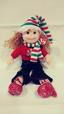 TY Beanie Bopper - FESTIVE FRANNIE NEW