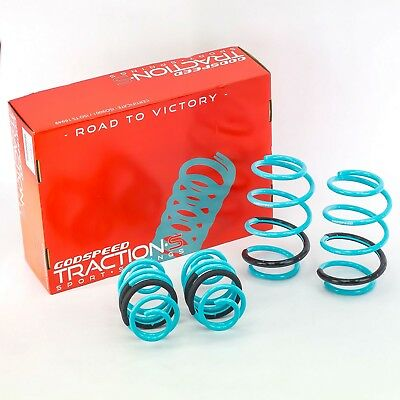 Godspeed Traction-S Lowering Springs For Nissan Sentra 2013-2017(B17)