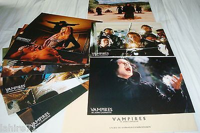 VAMPIRES   ! john carpenter  jeu 10 photos cinema lobby cards