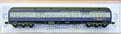 N Scale MICRO-TRAINS LINE 147 00 090 BALTIMORE & OHIO 70' Heavyweight Baggage Ca