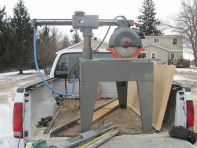 """Radial arm saw Tops Marvco Mdl. 43365 14""""   3 ph."""