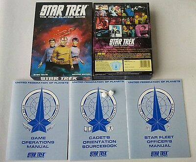 STAR TREK The Role Playing Game Basic Second Edition Games Workshop