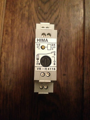 Hima H4116 Safety Relay 15Ma 24Vdc