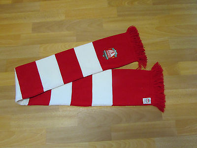 Official LIVERPOOL Red & White FOOTBALL Team Scarf