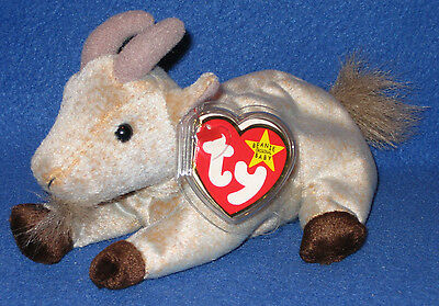 TY GOATEE the GOAT BEANIE BABY - MINT with MINT TAG