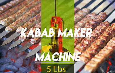 Kabab-O-Matic Kabab maker Koobideh Lule Shish Kebab Maker Kabob Equipment 5 lb