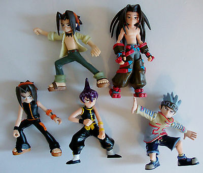 Shaman King Action Figures x5