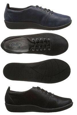 053a809edb7a8 Clarks Women's Cloud Steppers Sillian Tino Lace-Up Casual & Walking Shoes