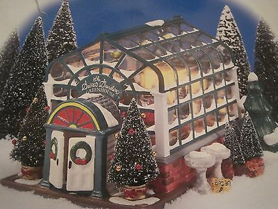 Dept 56 Snow Village® THE SECRET GARDEN GREENHOUSE