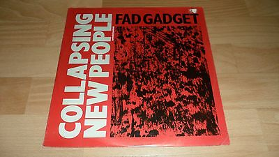 """Fad Gadget - Collapsing New People (Rare 1983 Deleted 3 Track Vinyl 12"""" Single)"""