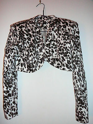 Witches Of East End Prop ~ 2 Production Used Worn Leopard Jackets (Wendy?) ~ Coa