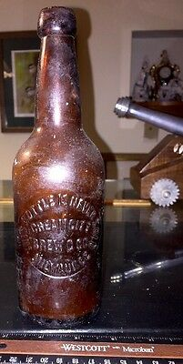 Antique Cream City Brew Bottle~This Bottle Is Never Sold~Extremely Rare~!
