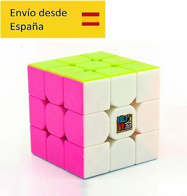 cubo mágico magic cube MF3RS Stickerless candy colors DESDE ESPAÑA