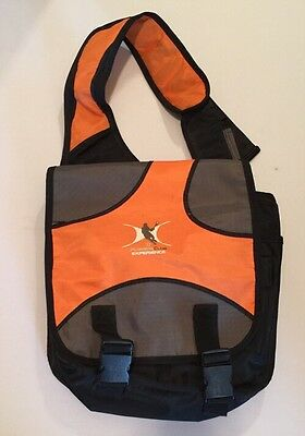 WARRIOR Lax Shoulder Backpack Lacrosse Bag Orange Blue Players Club Experience