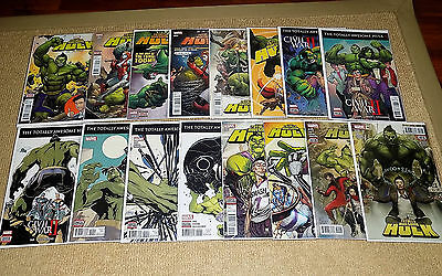 The Totally Awesome Hulk #1 - 16, Marvel Comics, First Print, Nm, Comic Books
