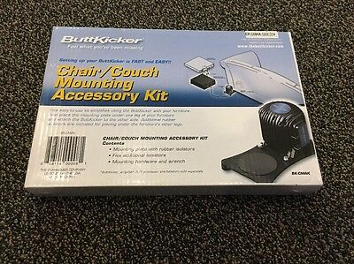 ButtKicker Chair/Couch Mounting Accessory Kit BK-CMAK NEW!