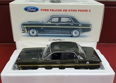 1:18 Biante - Ford Falcon Xw Gtho Phase 2 - Reef Green - With Coa And Brochure